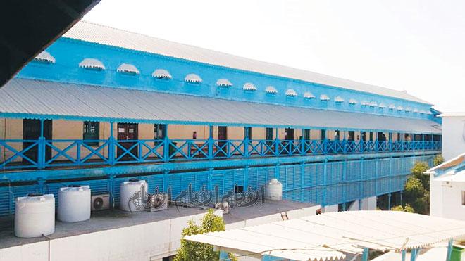 مستشفى باصهيب العسكري