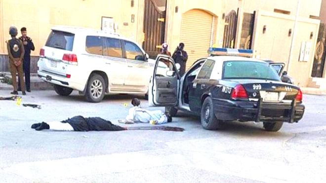 مقتل 4 مهاجمين في إحباط هجوم إرهابي شمالي الرياض