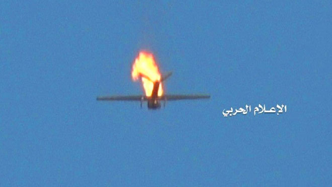 """صورة نشرها الإعلام الحربي التابع لجماعة أنصار الله """"الحوثيون"""""""