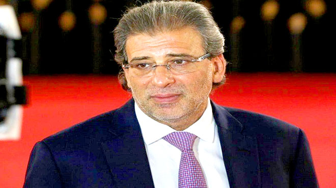 المخرج المصري وعضو مجلس النواب خالد يوسف