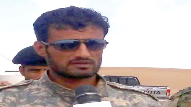 قائد قوات الحزام الأمني في محافظة لحج جلال ناصر الربيعي