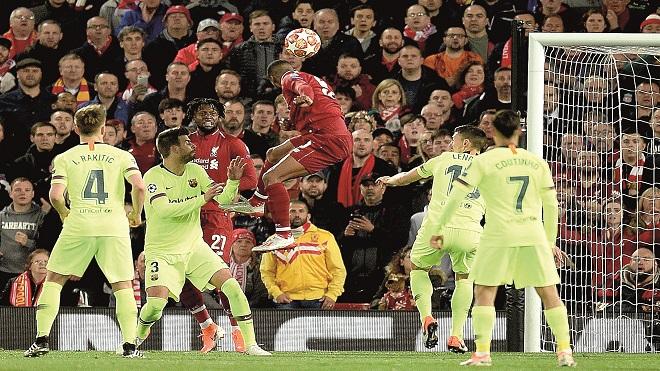دوري الأبطال: ليفربول يصدم برشلونة برباعية ويبلغ النهائي