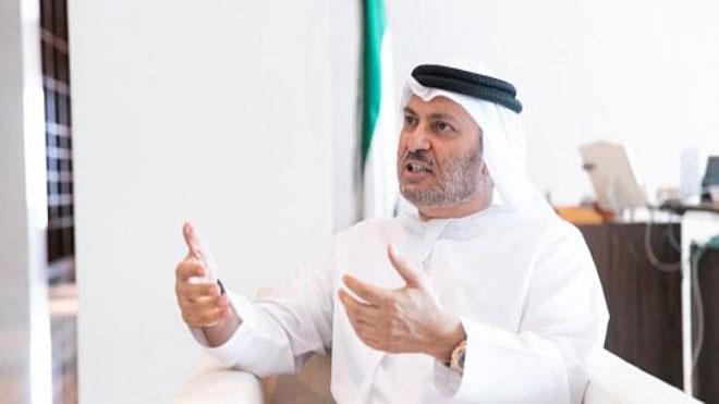 وزير الدولة للشؤون الخارجية الإماراتي د. أنور قرقاش