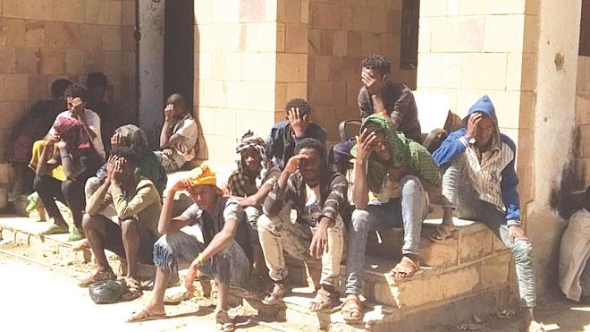 الإثيوبيون يموتون في المخيمات بعد رحلات خطيرة عبر اليمن
