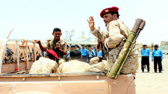 مقاتل من الحوثيين
