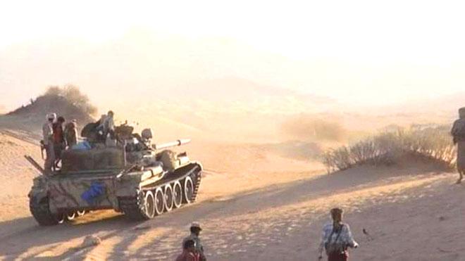 عمليات مشتركة ومربعات قتالية في جبهات الضالع