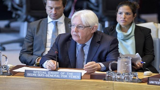 المبعوث الخاص للأمين العام للأمم المتحدة إلى اليمن، مارتن غريفيث