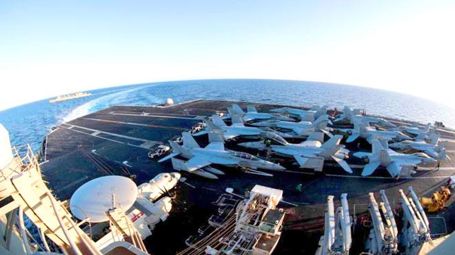 أمريكا تتوخى الحذر في المجال الجوي الخليجي