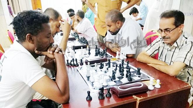 حيابك في مواجهة بامعلم وصراع على بطولة الفقيد العكبري الشطرنجية