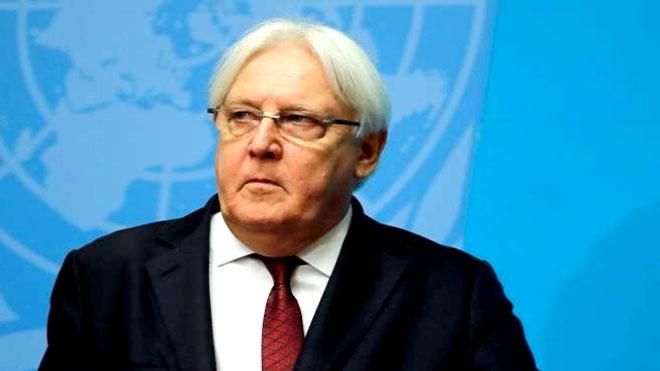 المبعوث الأممي الخاص إلى اليمن  مارتن جريفيثس