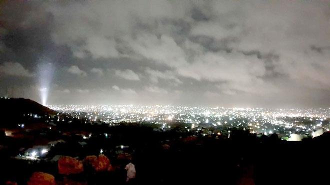 صورة ليلية للعاصمة هرجيسا