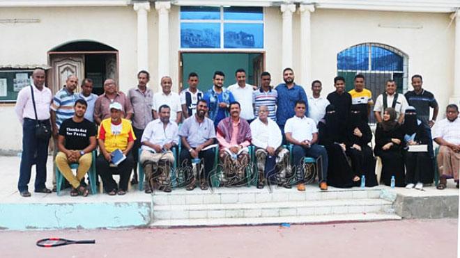 اللجنة المؤقتة لاتحاد الاعلام الرياضي بالعاصمة المؤقتة عدن