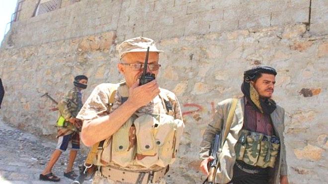 قائد اللواء 22 ميكا صادق سرحان