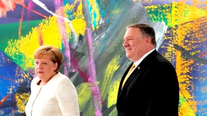 بومبيو يحشد أوروبيا ضد إيران