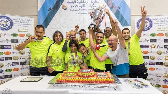 منتخب عدن يتوج بطلاً للبطولة الرابعة للكرة الطائرة بمدينة شفيلد