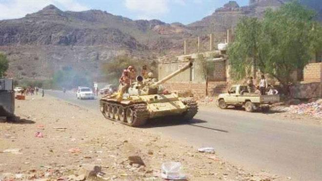 إحباط زحف للحوثيين في حجر الضالع
