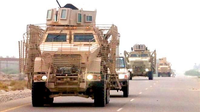 الشرعية تدعو لهزيمة الحوثيين عسكريا
