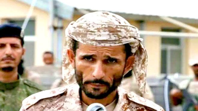 قائد اللواء الأول دعم وإسناد العميد منير محمود اليافعي