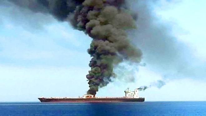 تقييم استخباراتي بريطاني يؤكد تورط إيران بهجمات الخليج