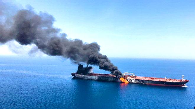 طهران تحمل واشنطن مسئولية هجمات الخليج