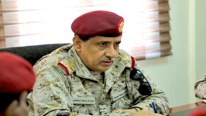 رئيس هيئة الأركان العامة الفريق ركن عبدالله سالم النخعي