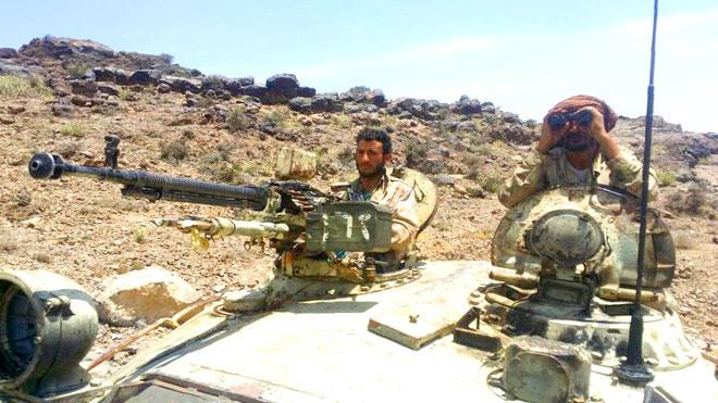 عملية للعمالقة والصاعقة تحرر أكبر معاقل الحوثيين شمال الضالع