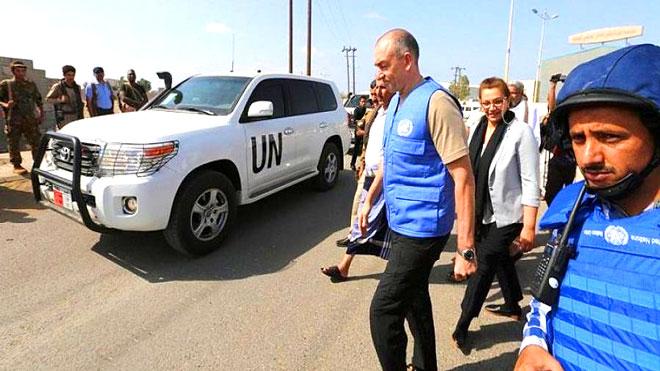 الجنرال مايكل لوليسغارد رئيس اللجنة الأممية لمراقبة إعادة الانتشار في الحديدة