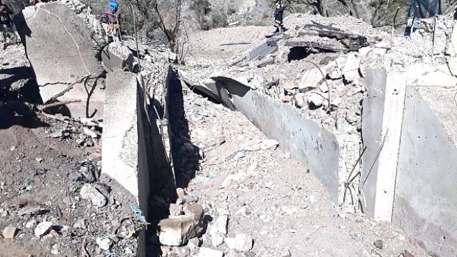 تفجير جسر رابط بين الضالع وإب