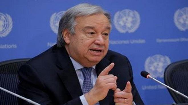 الأمين العام للأمم المتحدة، أنطونيو جوتيريش