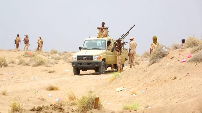 قوات سودانية بالحديدة