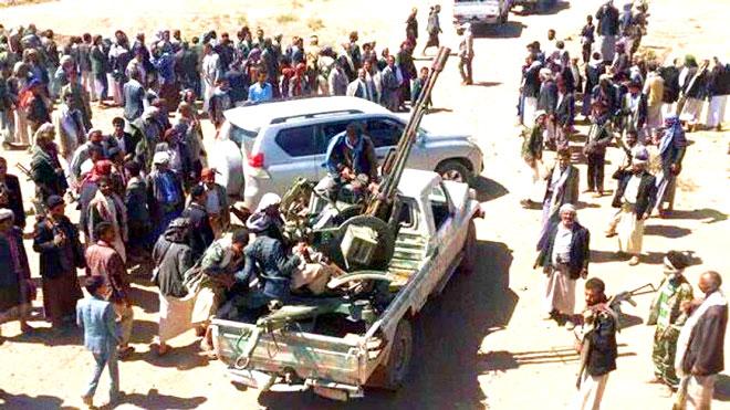 انتفاضة قبلية في معقل مليشيات الحوثي