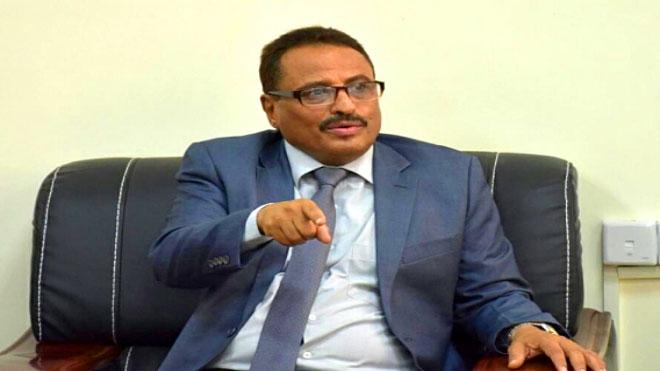 وزير النقل اليمني صالح الجبواني