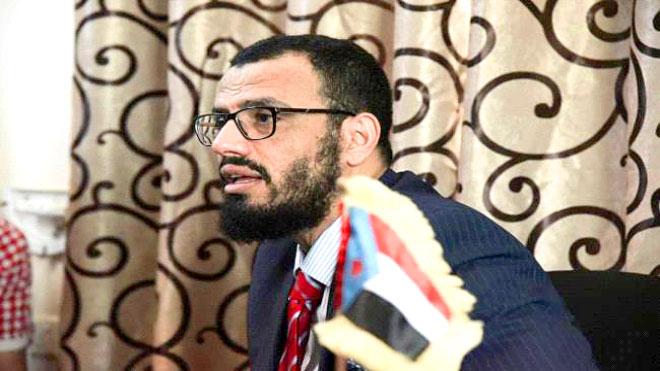 نائب رئيس المجلس الانتقالي الجنوبي هاني بن بريك