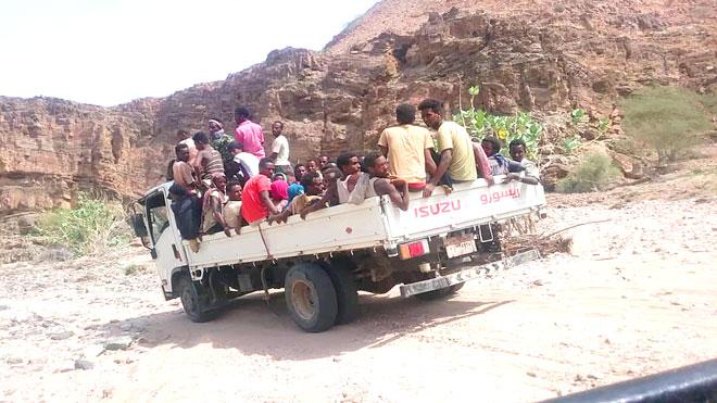 تزايد عمليات تهريب الأفارقة عبر سواحل أحور