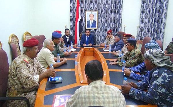 اللجنة الأمنية بشبوة
