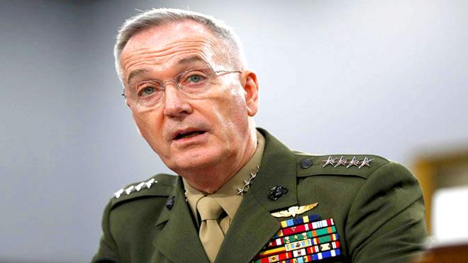 رئيس هيئة الأركان المشتركة الأميركية الجنرال جوزيف دانفورد
