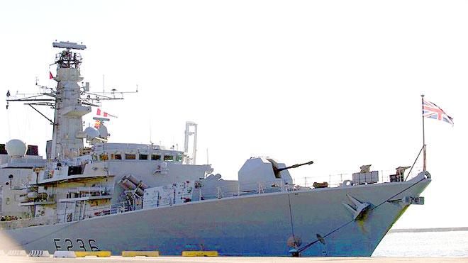لندن ترسل سفينة حربية إلى الخليج