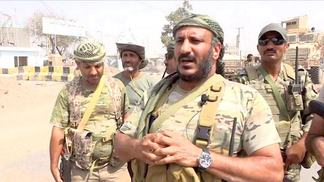 العمالقة: لا صحة لتعيين طارق صالح قائدا لقوات الساحل الغربي