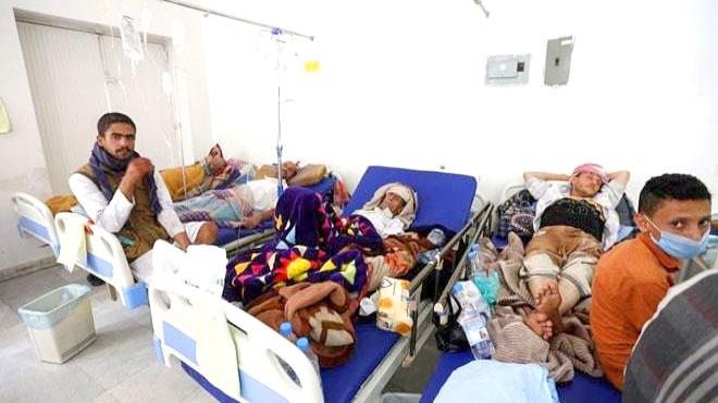 وفاة 84 مصاباً بالكوليرا في ذمار