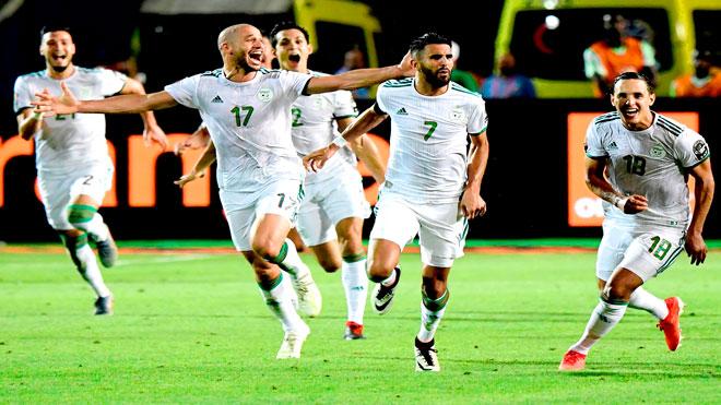 أمم إفريقيا 2019: محرز يقود الجزائر الى النهائي بعد 29 عاما من الانتظار