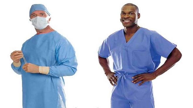 الجراثيم الخارقة تستطيع البقاء على الأردية الطبية بعد التعقيم