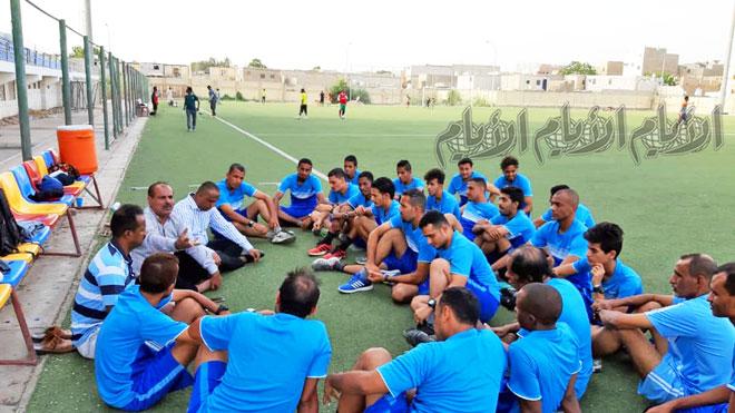 اتحاد كرة قدم عدن الجديد يلتقي بالحكام
