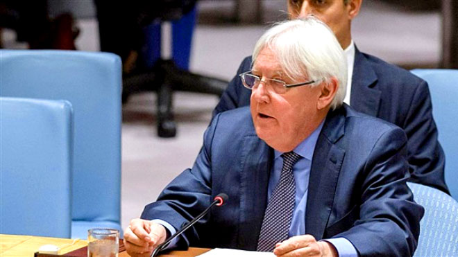 جريفيثس يقدم إحاطة لمجلس الأمن حول اليمن