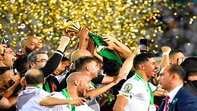 أمم إفريقيا 2019: العاهل المغربي فخور بلقب الجزائر