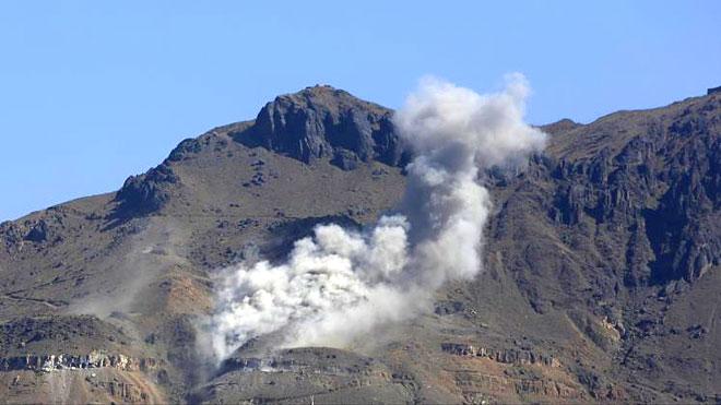 التحالف يعلن تدمير مخزن للصواريخ الباليستية في صنعاء