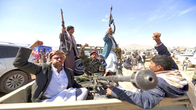 مقتل المشرف الميداني للحوثيين و4 من مرافقيه بالحديدة