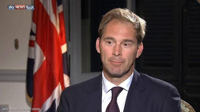 وزير الدولة لشؤون الدفاع في الحكومة البريطانية توبايس ايلوود