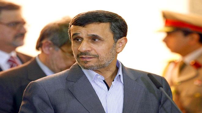 الرئيس الإيراني السابق محمد أحمدي نجاد