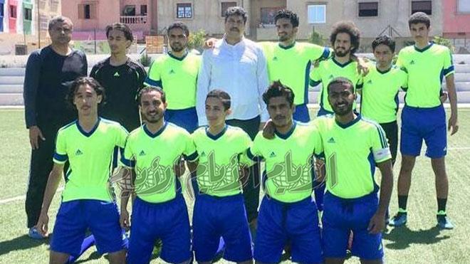 فريق «الشباب اليمني» في المغرب يشارك في بطولة كأس العرش