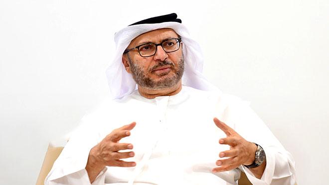 وزير الدولة الإماراتي للشؤون الخارجية، أنور قرقاش
